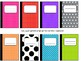 Editable: Notebook Nametags
