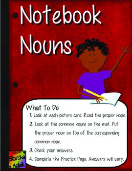 Notebook Nouns