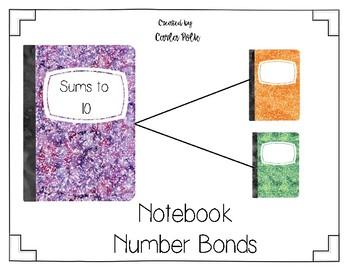 Notebook Number Bonds