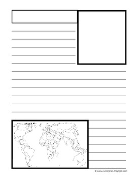 Notebook Pages- History & Social Study