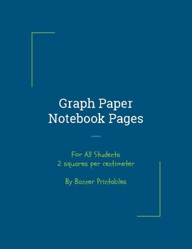 Notebook Pages, Writing Paper, and Journal Pages For Dysgraphic Students