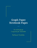 Notebook Pages, Writing Paper, and Journal Pages For Dysgr