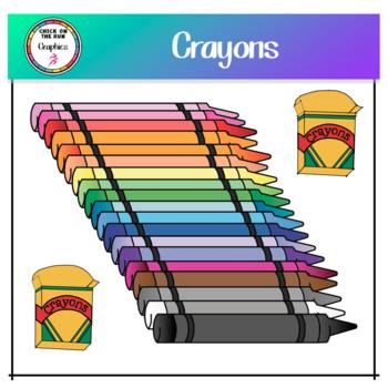 Crayons (Digital Clip Art)