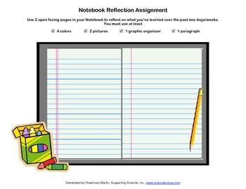Notebook Reflection Assignment