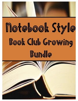 Notebook Style Book Club Growing Bundle (11 Book Clubs)