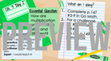Notebook Template for Google Slides