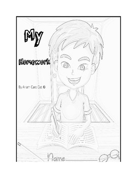 Notebook and Folder Covers for Students| Organize Homework| Binder Cover