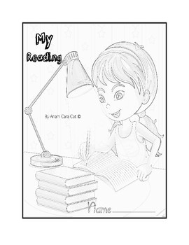 Notebook and Folder Covers for Students| Reading Log Cover| Binder Cover