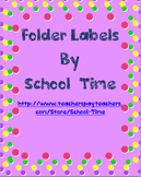 Notebook and Folder Labels (2 x 4)