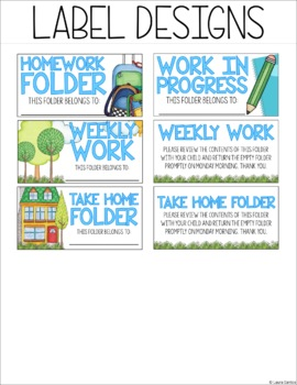 """Notebook and Folder Labels - 2""""x4"""""""