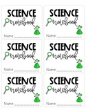 Notebook and Folder Labels - Color and Black & White included!