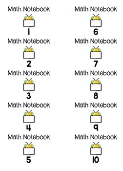 Notebook and Folder Labels (EDITABLE!)