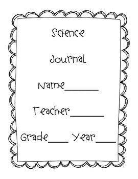 Notebook and Interactive Journal Covers {Math, Science, Grammar & More}