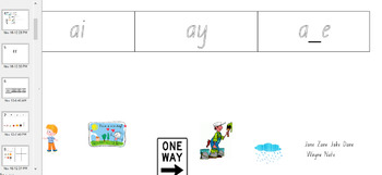 Notebook to support Set 4 phonics worksheets