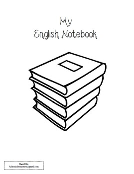 Notebooking Cycle 1 English (to be used with classical conversations)