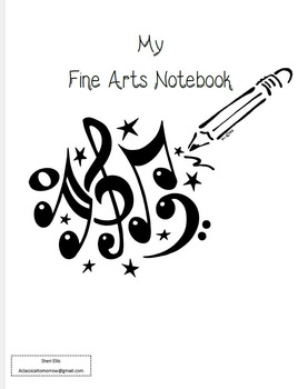 Notebooking Cycle 1 Fine Arts (to be used with classical conversations)