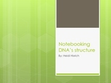 Notebooking DNA's Structure