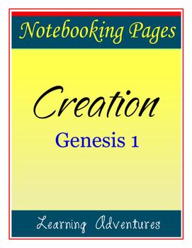 Notebooking - Genesis 1 - Creation