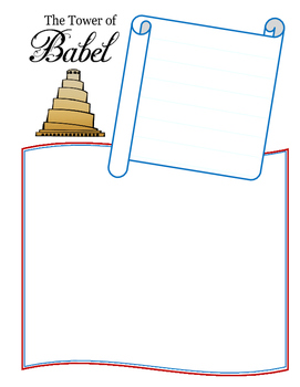 Notebooking - Genesis 11 - The Tower of Babel