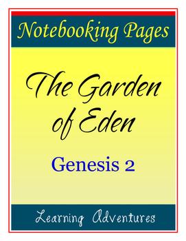 Notebooking - Genesis 2 - The Garden of Eden