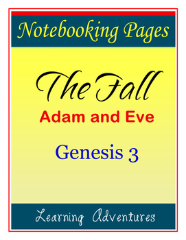 Notebooking - Genesis 3 - The Fall (Adam and Eve)