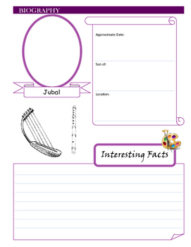 Notebooking - Genesis 4 - Jabal, Jubal, and Tubal-Cain (Inventors)