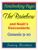 Notebooking - Genesis 9-10 - The Rainbow and Noah's Descendants