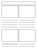 Notebooking Pages - Template Pack