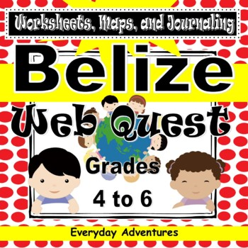 Notebooking Pages for Belize