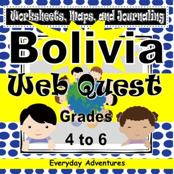 Notebooking Pages for Bolivia