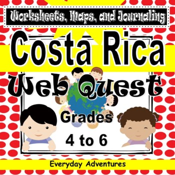 Notebooking Pages for Costa Rica
