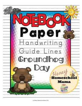 Notebooking Paper - Themed Writing Paper for Beginner Writ