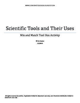 Notebooking - Scientific Tools and Uses