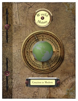 Notebooking and Journaling COVER Pages- World History: Creation to Modern