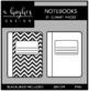 Notebooks 1 Clipart {A Hughes Design}