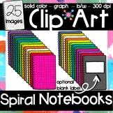 Notebooks Clip Art