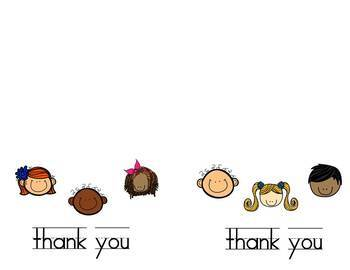 Notecards: Kids Thank you