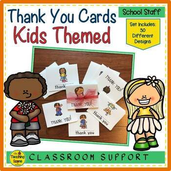 Kids Thank You Notecards