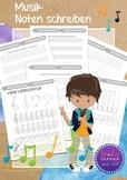 Noten und Notenschlüssel - Arbeitsblätter für den Musikunterricht