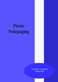 Pirates Notepaging