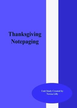 Thanksgiving Notepaging