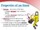 Atoms, Ions and Compounds: Presentation and Notes