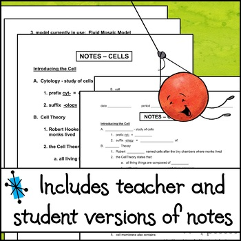Notes - Cells