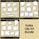Notes Clip Art Bundle