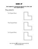 Geometry Notes (Congruent Triangles) - Congruent Figures