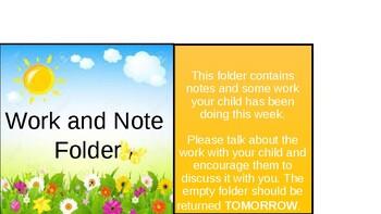 Notes Folder