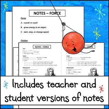 Notes - Forces