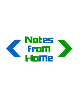 Notes From Home sign