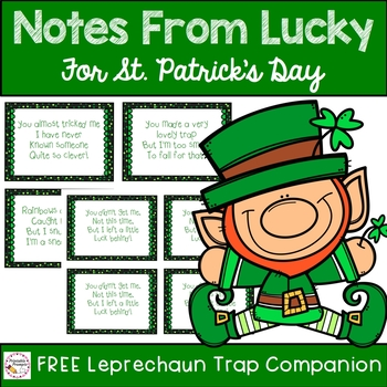 Notes From Lucky- St. Patrick's Day