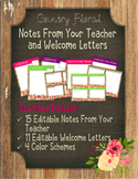 Notes From Your Teacher: Country Floral
